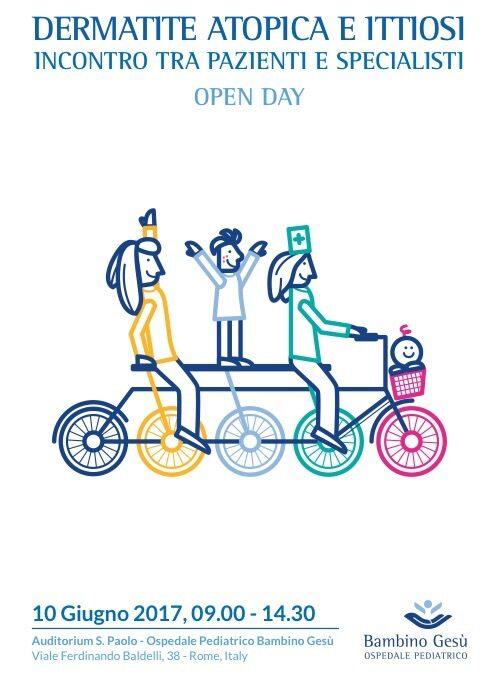 10 giugno 2017 – OPEN DAY ALL'OSPEDALE BAMBIN GESU'