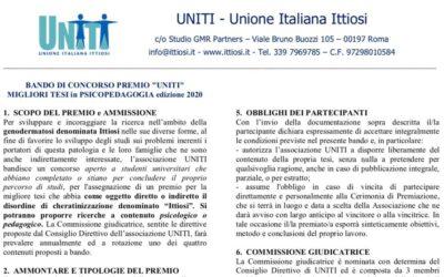 Premio di Laurea UNITI ed. 2020